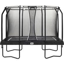Salta Premium Black Edition - rechteckig - Schutzrand Schwarz 214x305cm