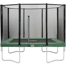 Salta Trampoline Combo - rechteckig - Schutzrand Grün 214x305cm