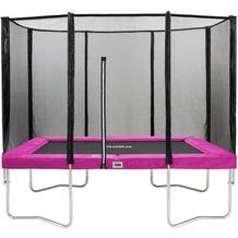 Salta Trampoline Combo - rechteckig - Schutzrand Pink 214x305cm