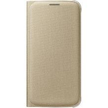 Samsung S-View Cover Textil, für Galaxy S6, Gold