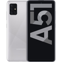 Samsung A515F Galaxy A51 128 GB (Haze Crush Silver)