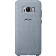 Samsung Alcantara Cover EF-XG955AM für Galaxy S8+ mintgrün