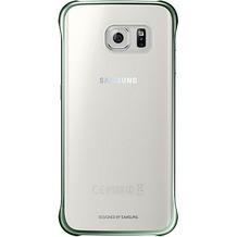 Samsung Clear Cover EF-QG925 für Galaxy S6 Edge, Grün