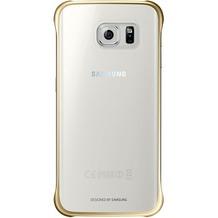 Samsung Clear Cover für Galaxy S6 Edge, Gold