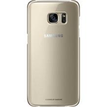 Samsung Clear Cover für Galaxy S7 edge, gold