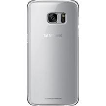Samsung Clear Cover für Galaxy S7 edge, silver
