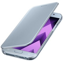 Samsung Clear View Cover A520F Galaxy A5 (2017) - blue