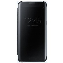 Samsung Clear View Cover - Galaxy S7 edge - black