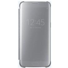 Samsung Clear View Cover - Galaxy S7 edge - silver