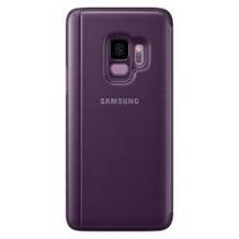 Samsung Clear View Standing Cover G960F für Galaxy S9, purple