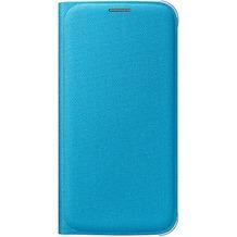Samsung Flip Wallet Textil, für Galaxy S6, Blau