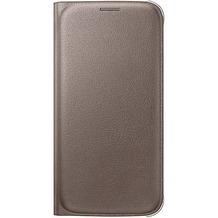 Samsung Flip Wallet PU EF-WG920 für Galaxy S6, Gold