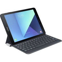 Samsung Keyboard Book Case mit Tastatur für Galaxy Tab S3 -grau