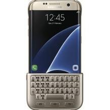 Samsung Keyboard Cover für Samsung Galaxy S7 edge, gold