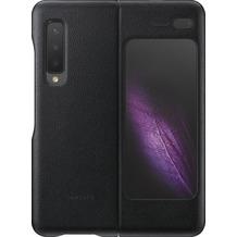 Samsung Leather Cover Galaxy Fold 5G, black