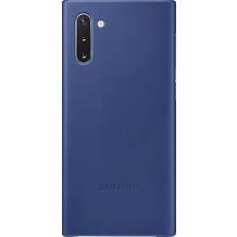 Samsung Leather Cover Galaxy Note 10 blau