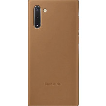 Samsung Leather Cover Galaxy Note 10 braun