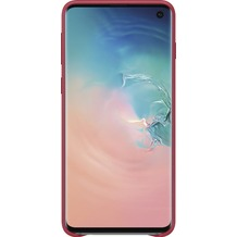 Samsung Leather Cover Galaxy S10, red