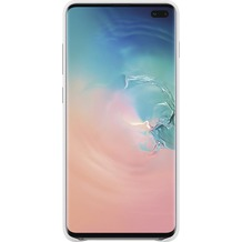 Samsung Leather Cover Galaxy S10+, white