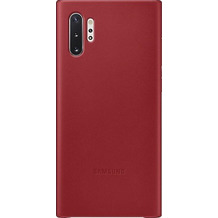 Samsung Leather Cover SM-N975F / Galaxy Note10+, red