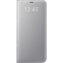 Samsung LED View Cover EF-NG955PS für Galaxy S8+ silber
