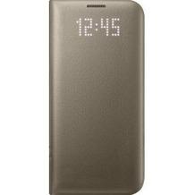 Samsung LED View Cover für Galaxy S7 edge, gold