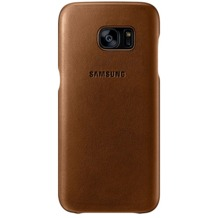 Samsung Leder Cover für Galaxy S7 edge, brown