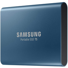 Samsung Portable SSD T5 500GB extern USB 3.1 blau