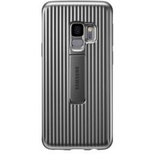 Samsung Protective Standing Cover G960F für Galaxy S9, silver