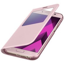 Samsung S View Standing Cover A520F Galaxy A5 (2017) - pink