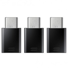 Samsung USB Typ-C auf Micro-USB Adapter 3er-Pack black