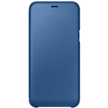Samsung Wallet Cover Galaxy A6 (2018), blau