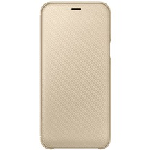 Samsung Wallet Cover Galaxy A6 (2018), gold