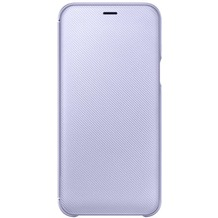 Samsung Wallet Cover Galaxy A6 (2018), lavendel
