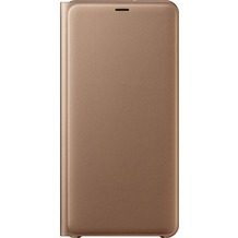 Samsung Wallet Cover Galaxy A7 (2018) gold