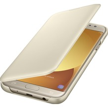 Samsung Wallet Cover Galaxy J7 (2017) - gold