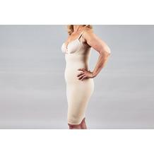 "samt Damen Shapewear Kleid Figurformend ""Tulip"" Beige L"