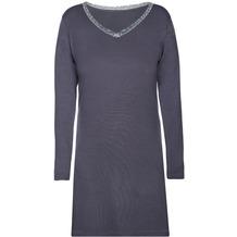 Sassa Loungewear Nachthemd Graphit 36