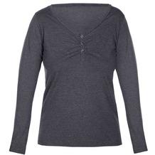 Sassa Loungewear T-Shirt melange graphite 36
