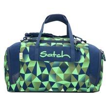 satch Duffle Bag Sporttasche 44 cm blau grün polygon fresh crush