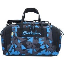 satch Duffle Bag Sporttasche 44 cm dreiecke blau blue triangle