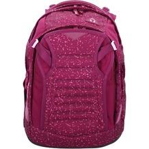 satch match Schulrucksack 45 cm beere rosa gesprenkelt