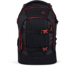 satch pack meshy edition 2.0 Schulrucksack 45 cm fire phantom  schwarz, rot