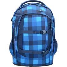 satch pack Schulrucksack 48 cm karo blau skytwist
