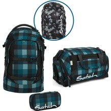 satch Schulrucksack-Set 4-tlg Pack Blue Bytes 9H4 blue bytes