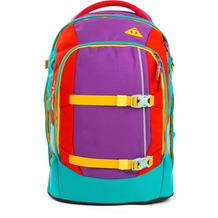 satch pack Schulrucksack 48 cm Color Block Lila