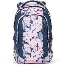 satch sleek Schulrucksack 45 cm botanic blush rosa, blau