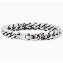 Save Brave Armband Edelstahl John Silbergrau 22349