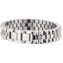 Save Brave Armband Edelstahl Steven Silbergrau 22351