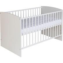 Schardt Classic White Bett 60x120 cm, weiß